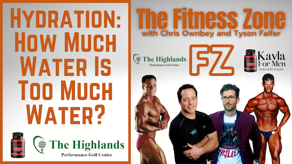 Ep22: Hydration:  How Much Water Is Too Much Water?