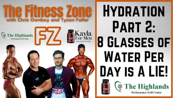 Ep23: Hydration Part 2: 8 Glasses of Water Per Day is a LIE!