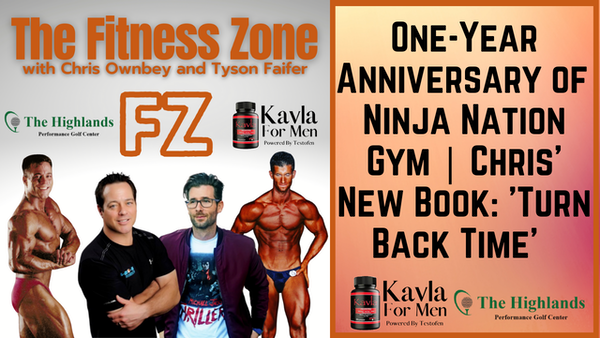 Ep25: Celebrating the One Year Anniversary of Ninja Nation in Murphy, Tx and Chris Owbney's new book, Turn Back Time
