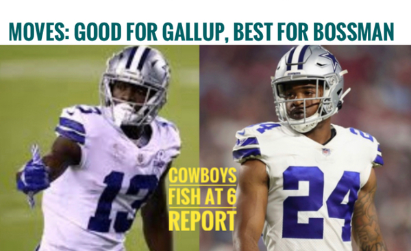 Fish Report Podcast - #DallasCowboys  2 big roster moves