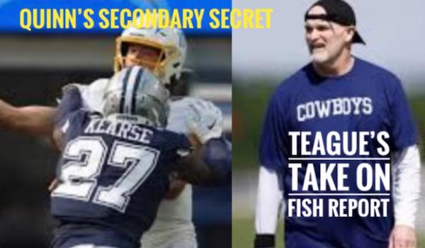 Fish Report Podcast - Dan Quinn + Kearse: 'BIG SAFETY' DISGUISES #DallasCowboys