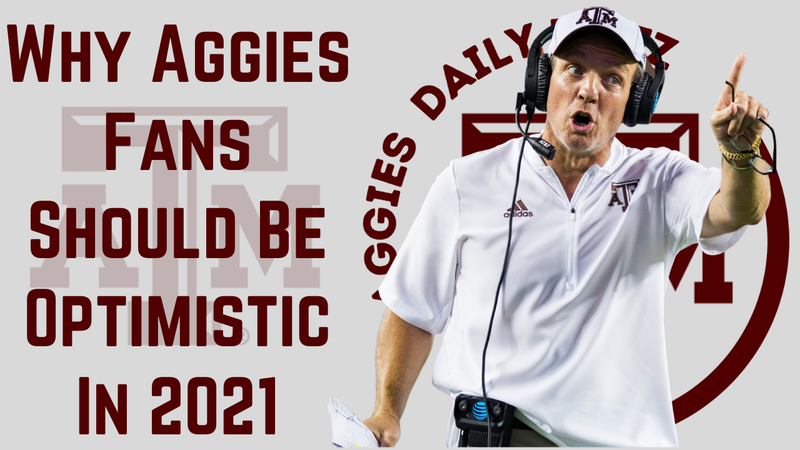 Episode image for Texas A&M Aggies Daily Blitz – 8/6/21 – Why Aggies Fans Should Be Optimistic in 2021