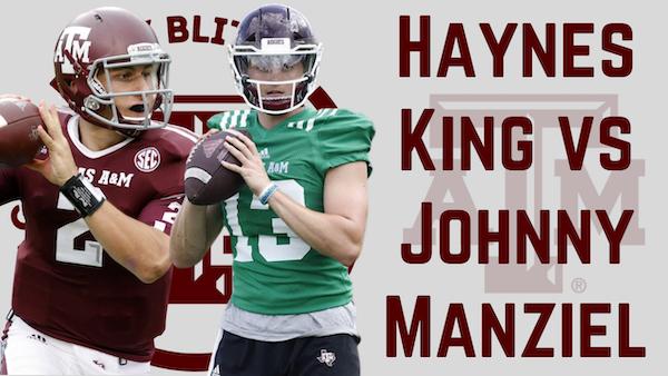 Texas A&M Aggies Daily Blitz – 8/27/21 – Haynes King vs. Johnny Manziel