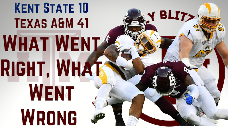 Episode image for Texas A&M Aggies Daily Blitz – 9/7/21 – Kent State: What Went Right, What Went Wrong