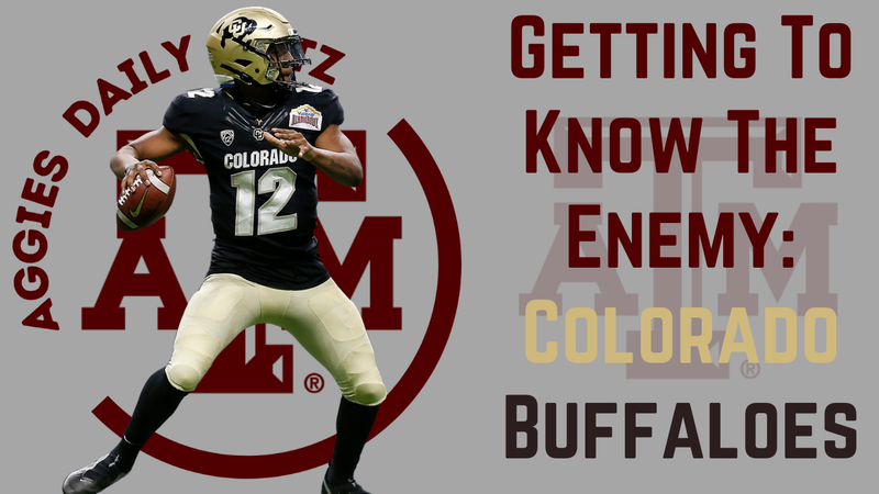 Episode image for Texas A&M Aggies Daily Blitz – 9/8/21 – Getting To Know The Enemy: Colorado Buffaloes