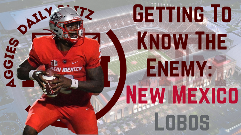 Episode image for Texas A&M Aggies Daily Blitz – 9/15/21 – Getting To Know The Enemy: New Mexico Lobos