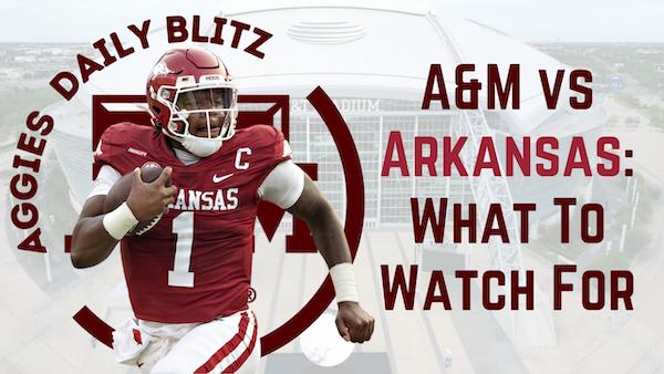 Texas A&M Aggies Daily Blitz – 9/24/21 – Leal vs Jefferson, Aggies vs Razorbacks: What To Watch For