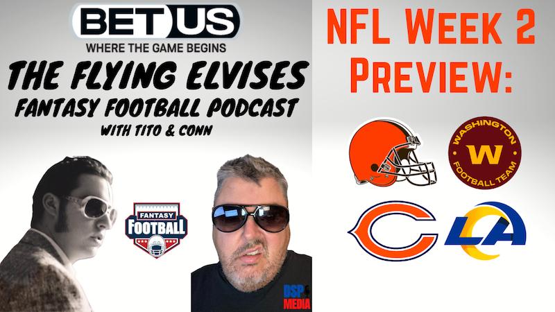 Episode image for The Flying Elvises Fantasy Football Show - NFL Week 2 Preview
