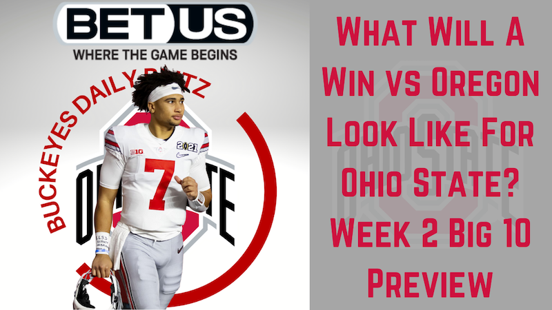 Episode image for Ohio State Buckeyes Daily Blitz - 9/10/21 - What Will A Win vs Oregon Look Like? Week 2 Big 10 Preview