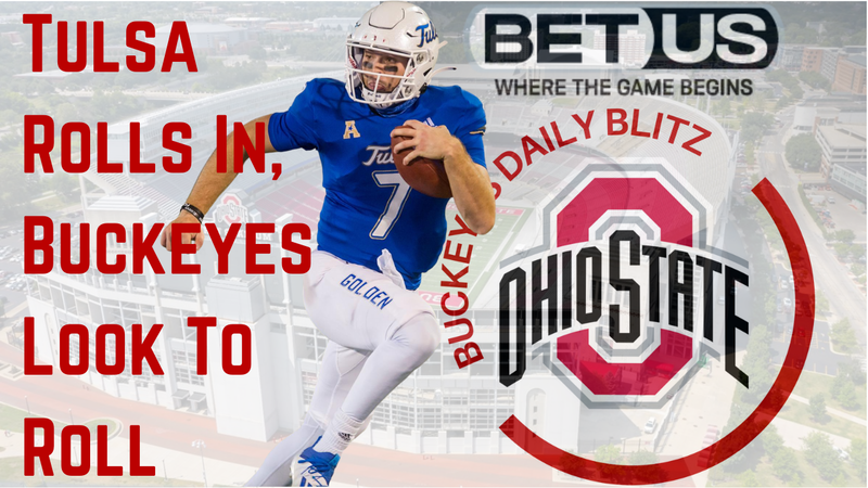 Episode image for The Ohio State Buckeyes Daily Blitz - 9/17/21 - Tulsa Golden Hurricanes Roll In, Buckeyes Look To Roll