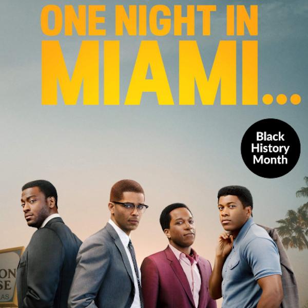 One Night in Miami with Savion Image