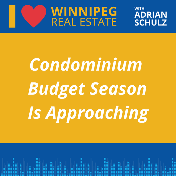 Condominium Budget Season Is Approaching