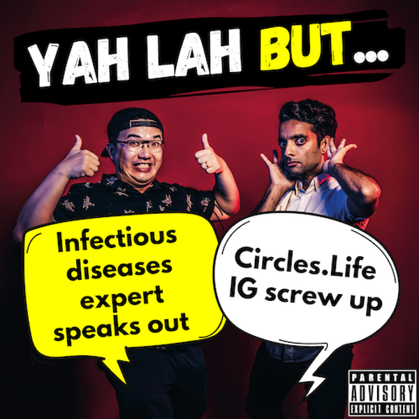 """#169 - Infections disease expert calls out """"fake COVID news"""" & Circles.Life gets backlash for IG post"""