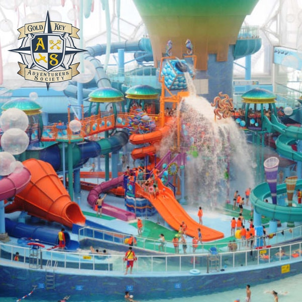 Summer Vacation:Water Parks Image
