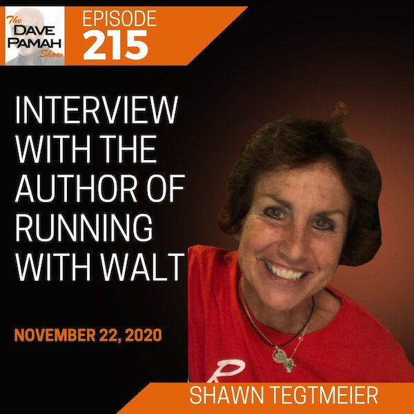 Interview with the author of Running With Walt - Shawn Tegtmeier