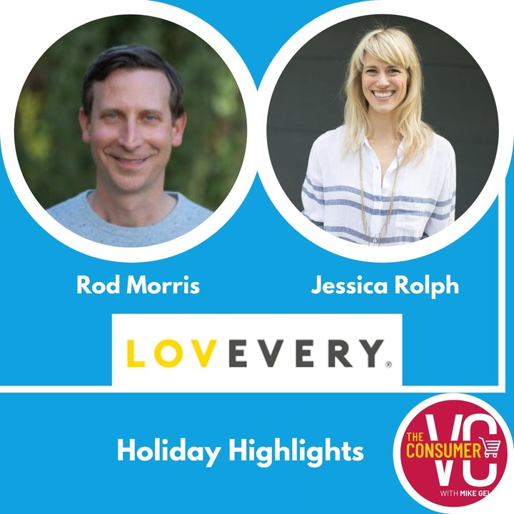Holiday Recap: Jessica Rolph & Rod Morris, Co-CEOs of Lovevery
