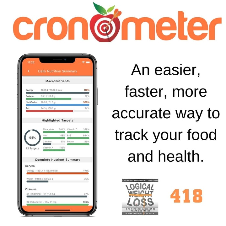Cronometer: An Easier, Faster, More Accurate Way to Track Your Health