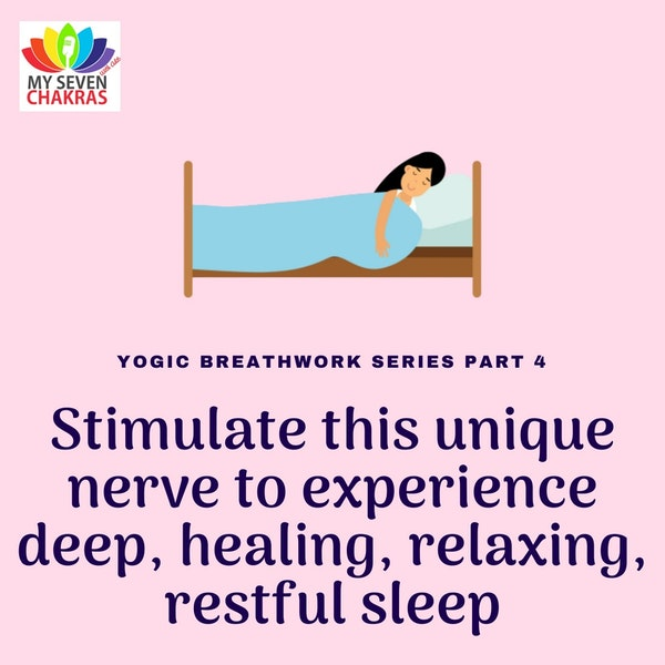 Stimulate This 'Unique Nerve' To Experience Deep, Healing, Relaxing And Restful Sleep