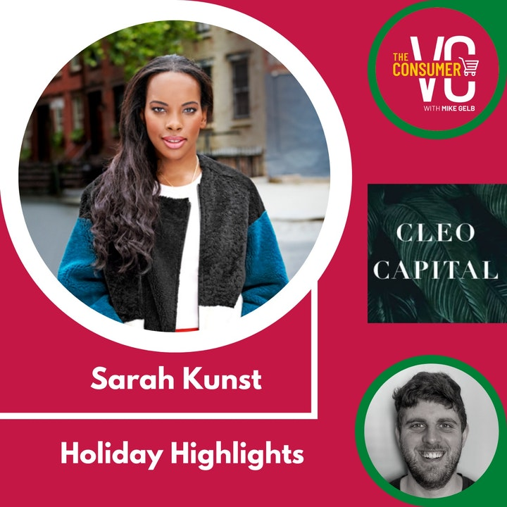 Holiday Highlights: Sarah Kunst, Managing Director of Cleo Capital
