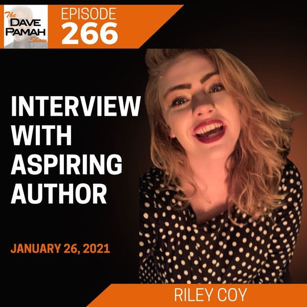 Interview with aspiring author Riley Coy