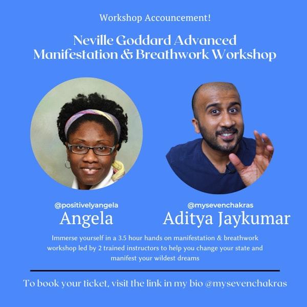 Neville Goddard Advanced Manifestation & Breathwork Workshop!