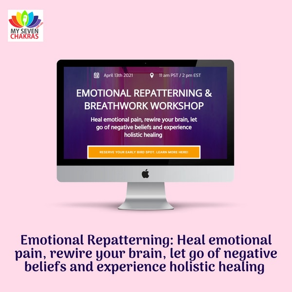Emotional Repatterning: Heal emotional pain, Rewire your brain, Let go of negative beliefs and Experience holistic healing Image