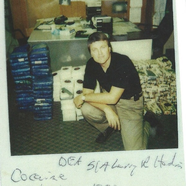 Interview with retired DEA agent Larry Hardin Image