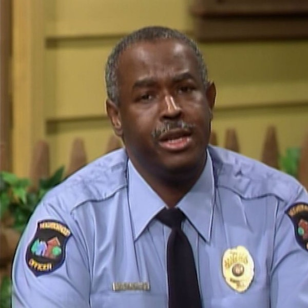 """Best of Bill: Guest: """"Officer"""" Francois S. Clemmons Image"""