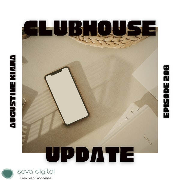 EP 208 : Was Clubhouse just a fad ?    App review Image