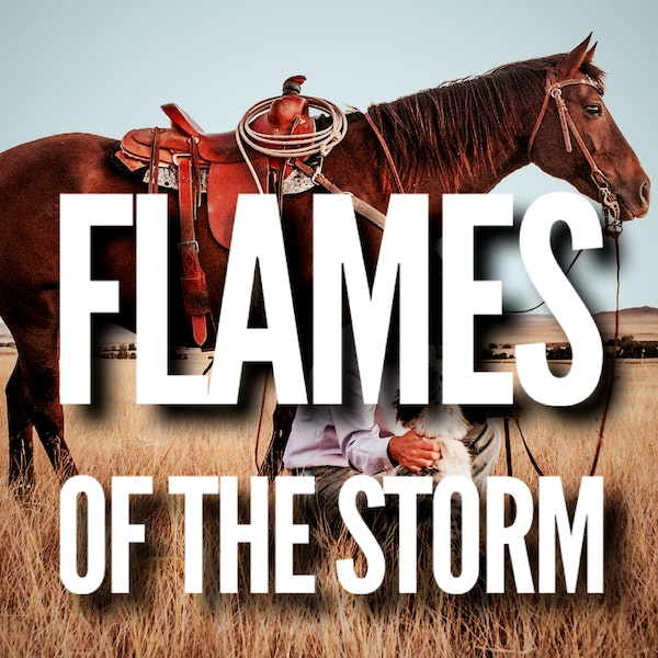 FLAMES OF THE STORM (3) | Western Adventure by WC Tuttle ASMR
