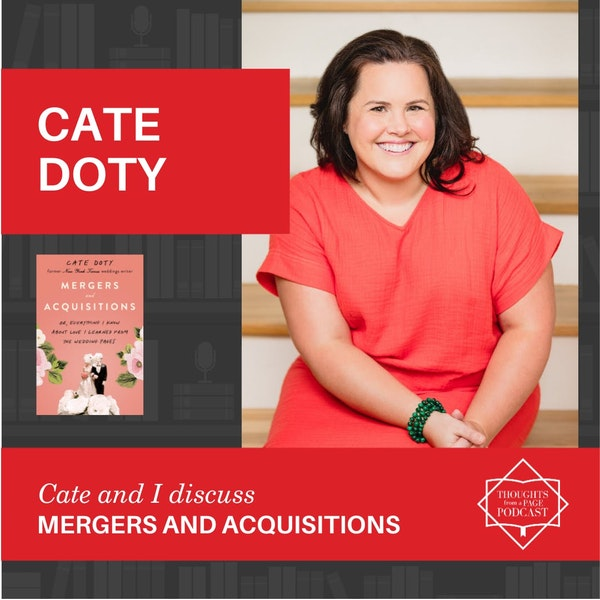 Cate Doty - MERGERS AND ACQUISITIONS