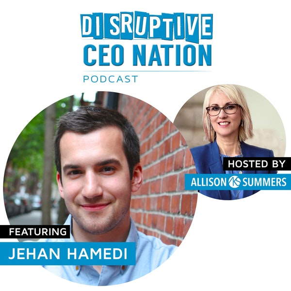 EP 91 Jehan Hamedi, Founder and CEO VIZIT Image