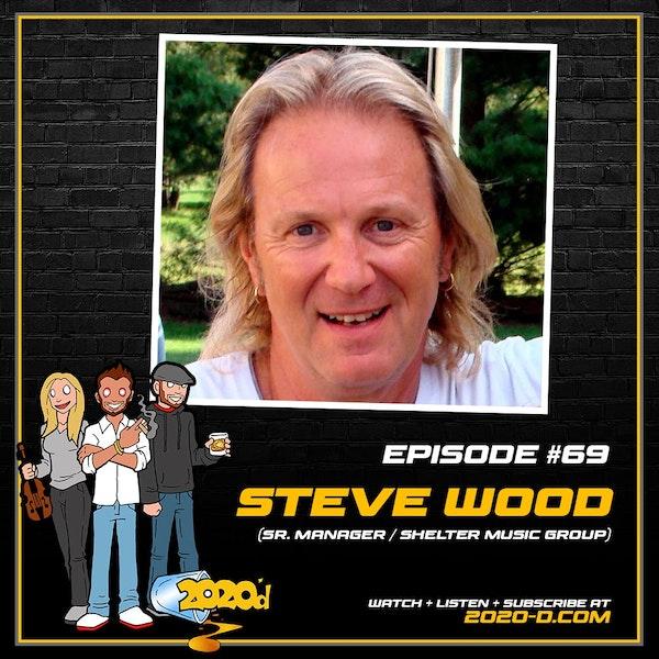 Steve Wood: Dinner with George Harrison Image