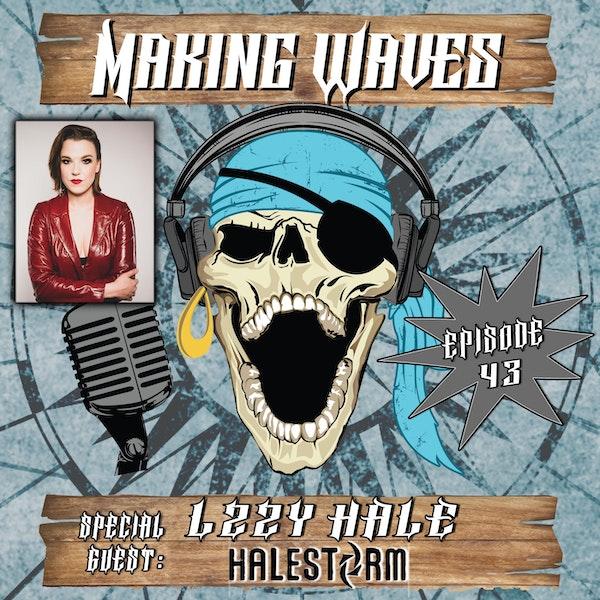 Lzzy Hale of Halestorm on Making Waves!