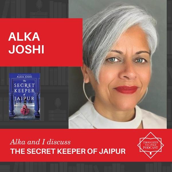 Alka Joshi - THE SECRET KEEPER OF JAIPUR