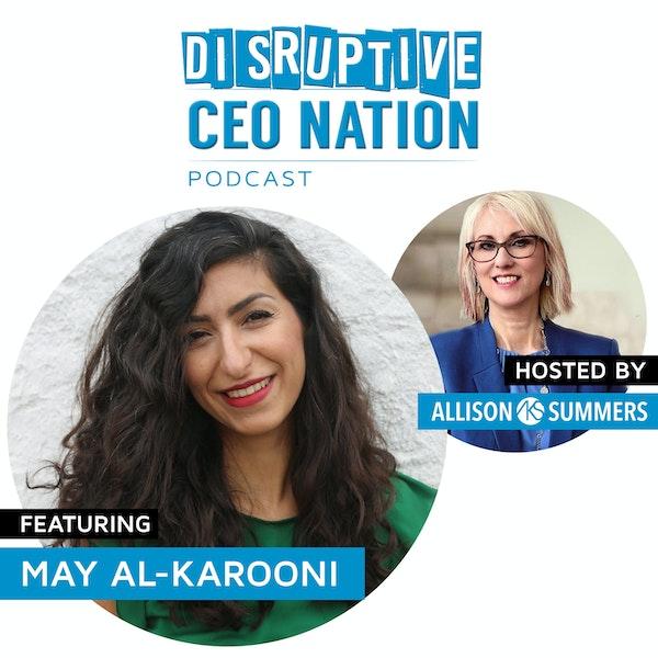 May Al-Karooni - Founder & CEO of Globechain Image
