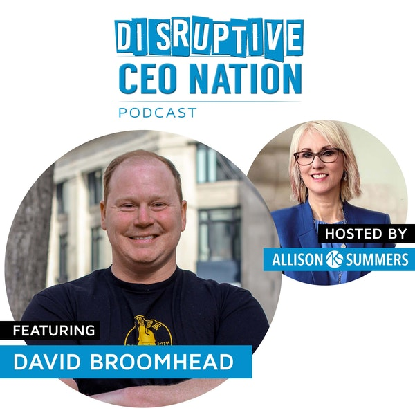 David Broomhead - Co-founder & CEO of Trade Hounds Image