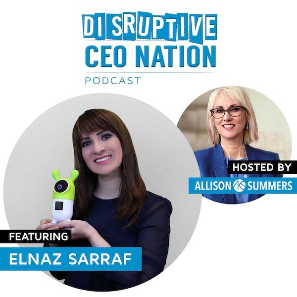 EP 92 Elnaz Sarraf, Founder, CEO Roybi Robot Image
