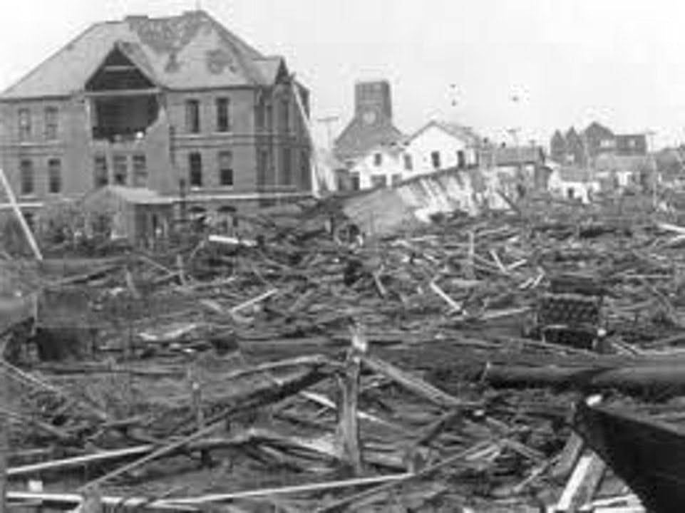 Re-Release:  The Galveston Hurricane of September 8, 1900