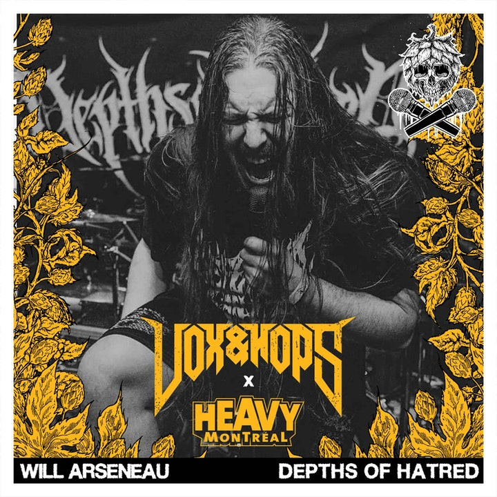 Conceptual Lyrics with Will Arseneau of Depths of Hatred & Shape the Above