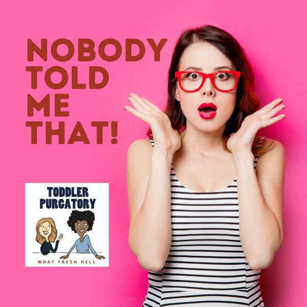 Nobody Told Me That! Pregnancy, Babies, and Toddlers Edition