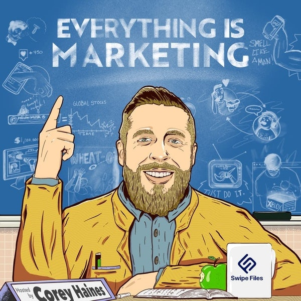 BONUS: Behind the scenes of Creative Elements and my creative career (Everything Is Marketing) Image