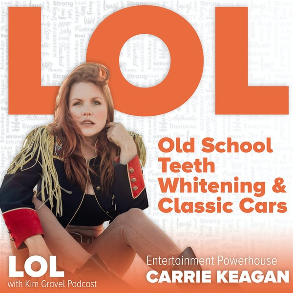 Old School Teeth Whitening and Classic Cars with Carrie Keagan Image