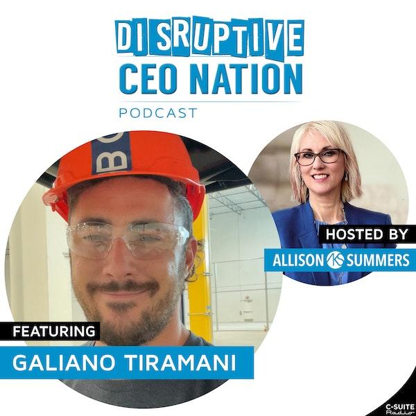 EP 109 Galiano Tiramani, Co-Founder Boxabl, Las Vegas, NV
