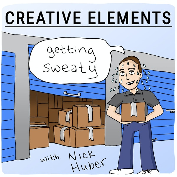 #70: Nick Huber [Getting Sweaty] – What online creators can learn from sweaty startups Image