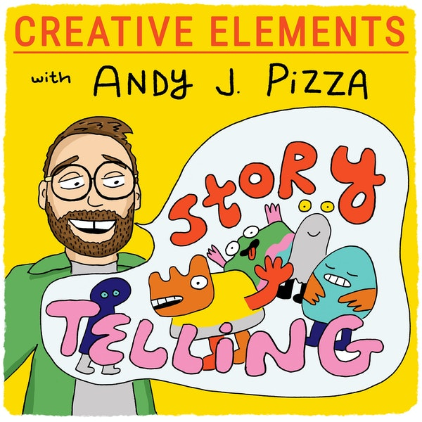 #77: Andy J. Pizza [Storytelling] – Writing with pictures and developing your taste Image