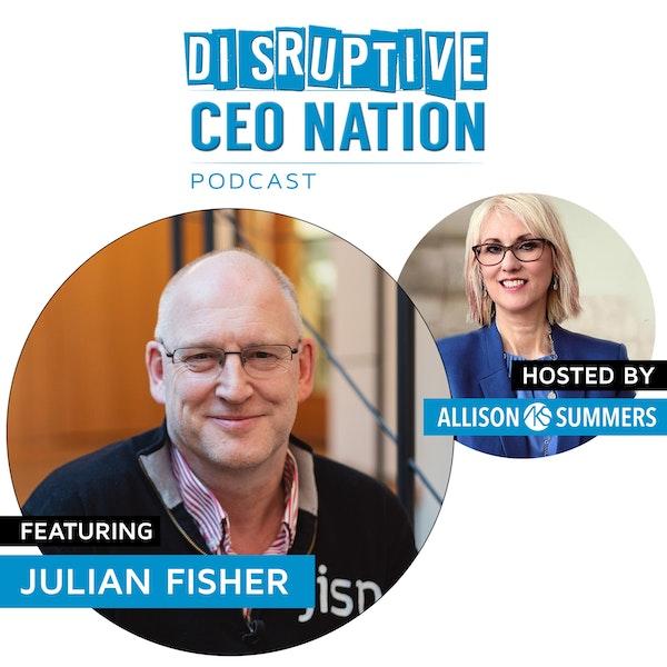 Julian Fisher - Founder & CEO of jisp Image