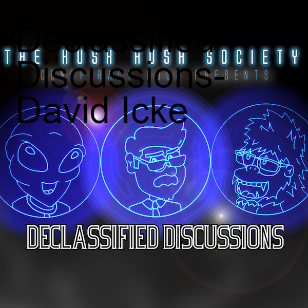 Declassified Discussions- David Icke Image