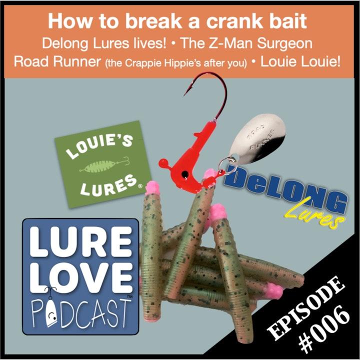 How to break a crank bait & the Road Runner