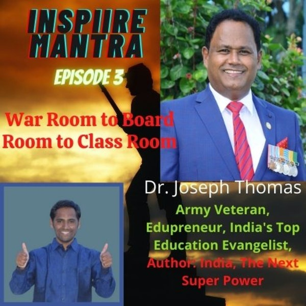 War Room - BoardRoom - ClassRoom :: Interview with Army Veteran, Edupreneur, India's Top Education Evangelist & Author of INDIA - The NEXT Super POWER... Image